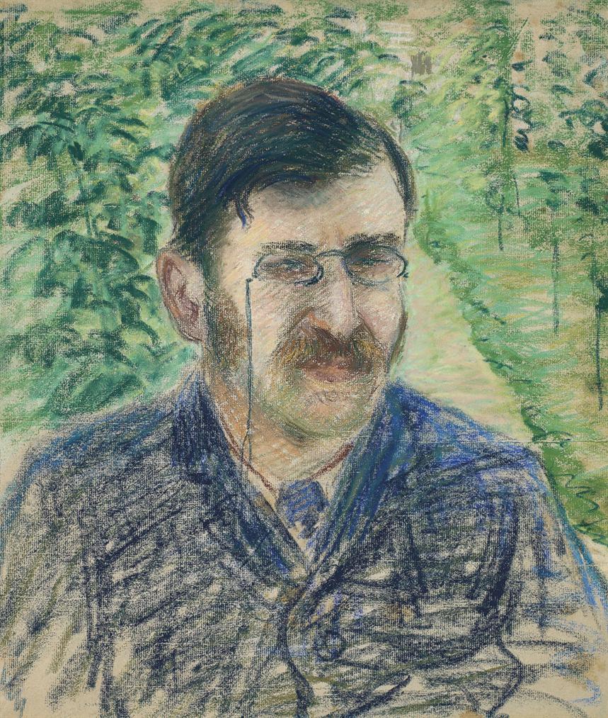 Camille Pissarro-Portrait Dalfred Isaacson-1883