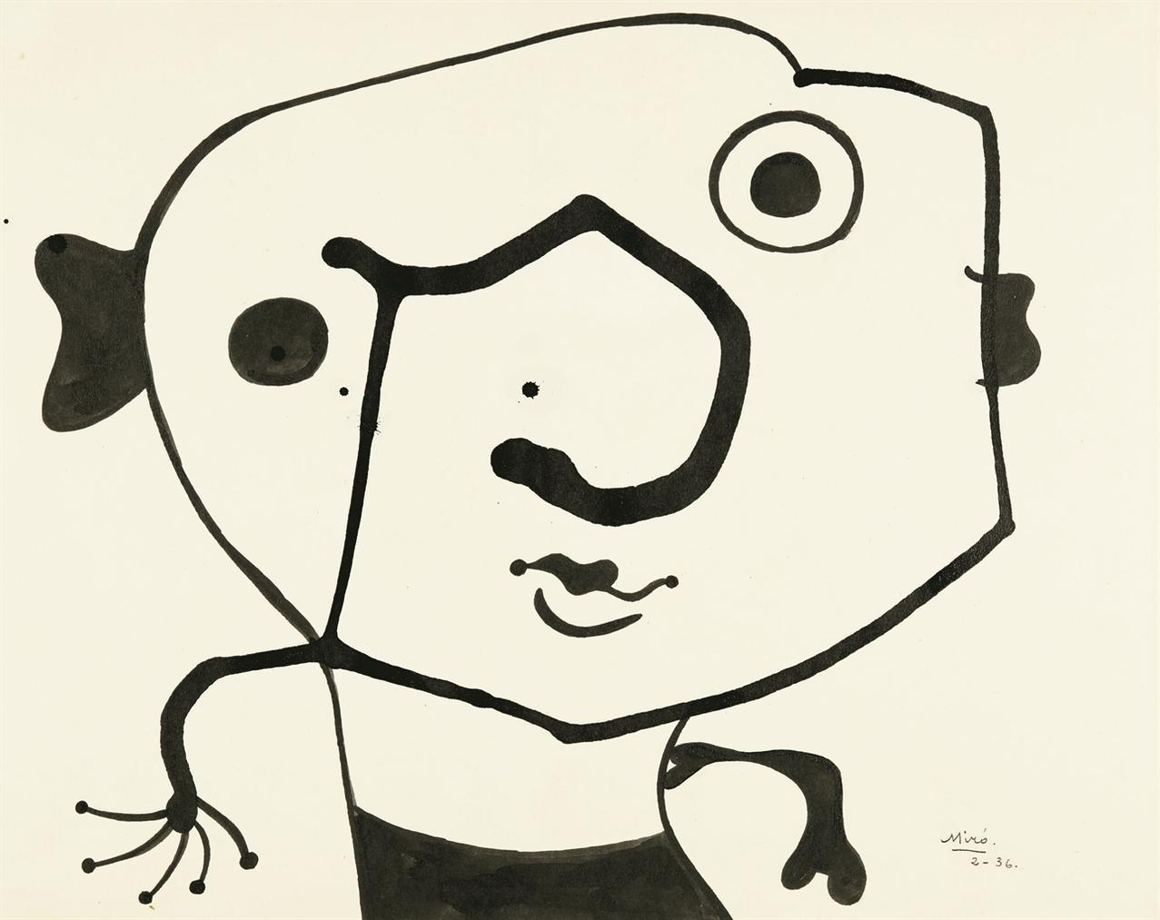 Joan Miro-Sans Titre-1936