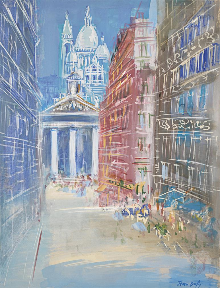 Jean Dufy-Paris, Rue Lafitte-