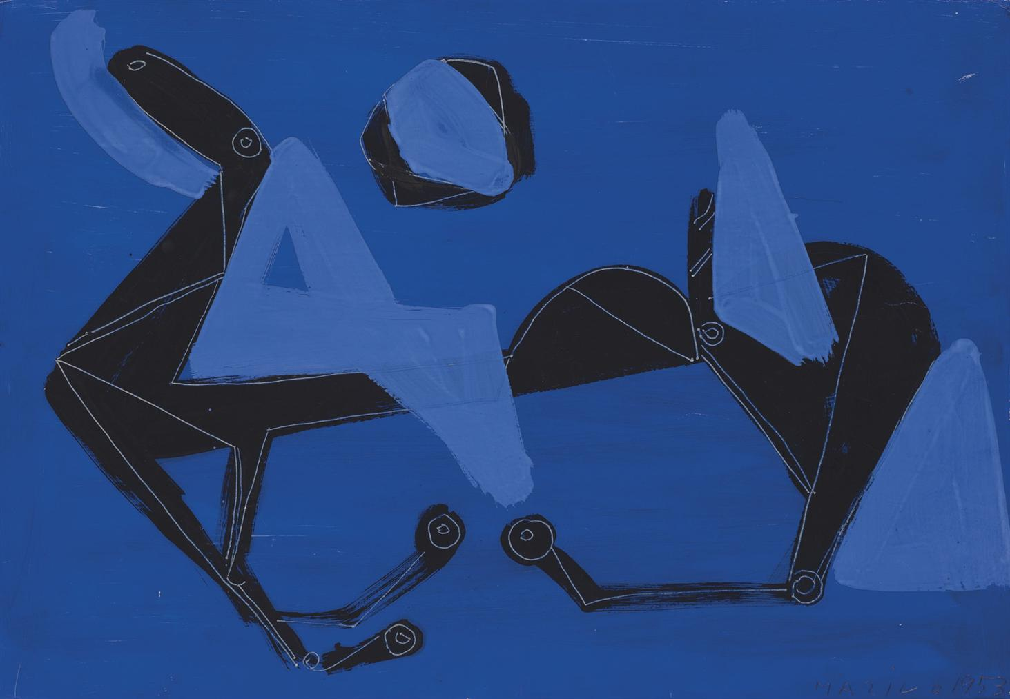 Marino Marini-Cavallo-1953