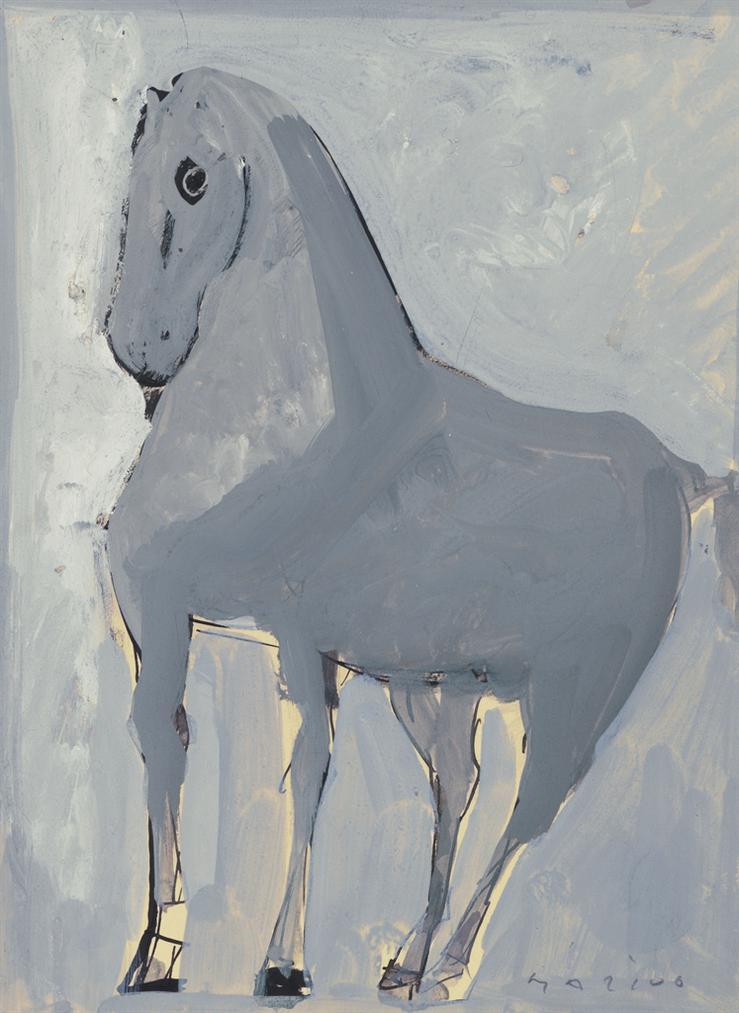 Marino Marini-Cavallo-1940