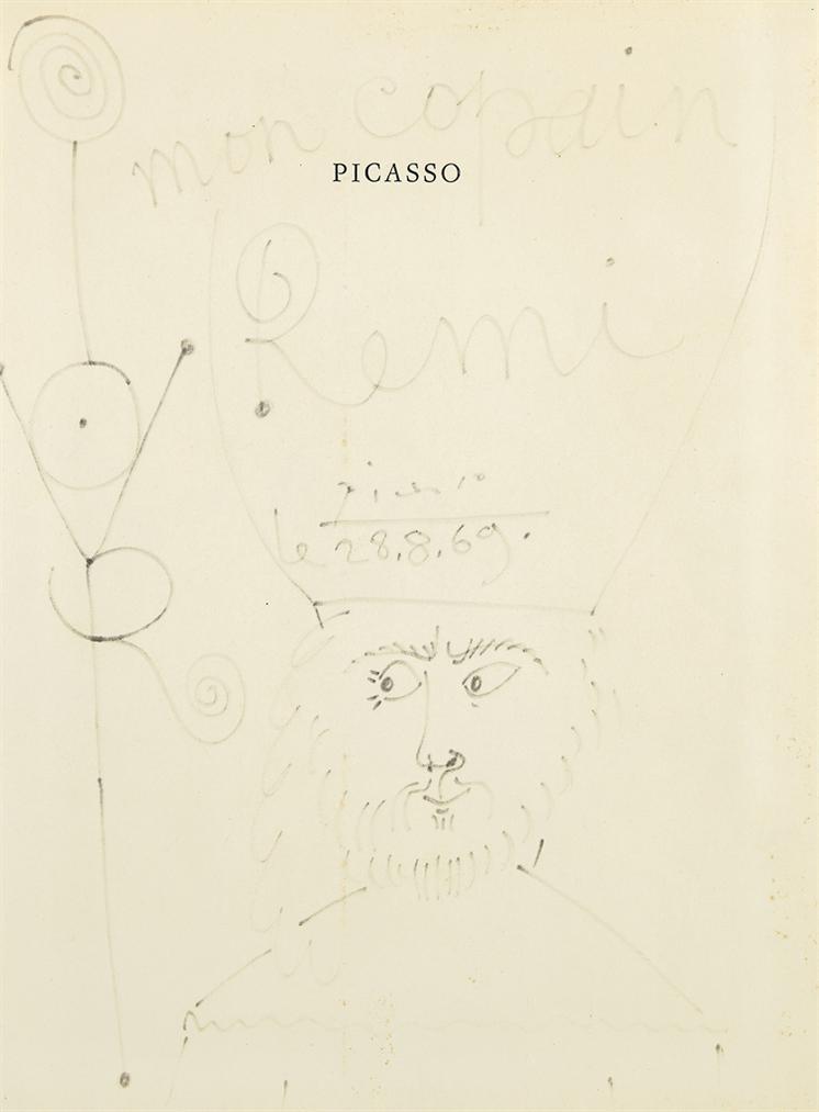 Pablo Picasso-Empereur-1969