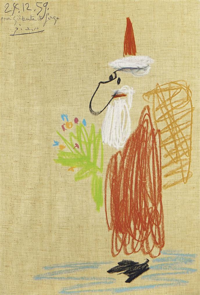 Pablo Picasso-Pere Noel-1959