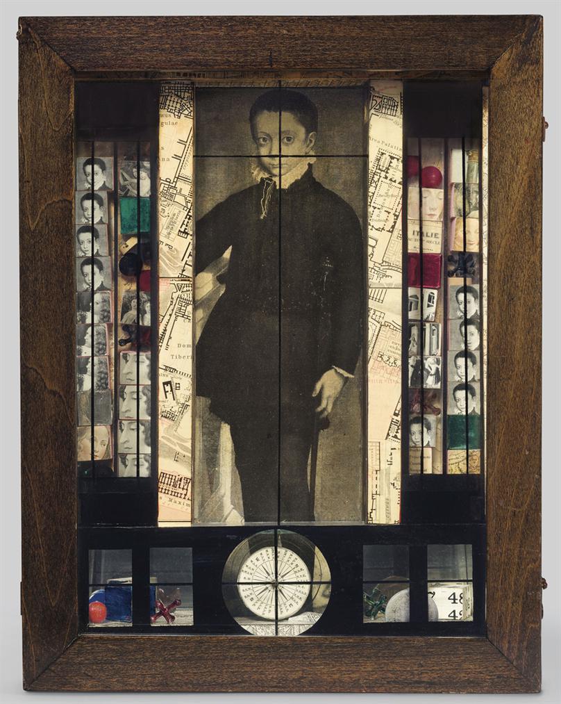 Joseph Cornell-Medici Slot Machine: Object-1942