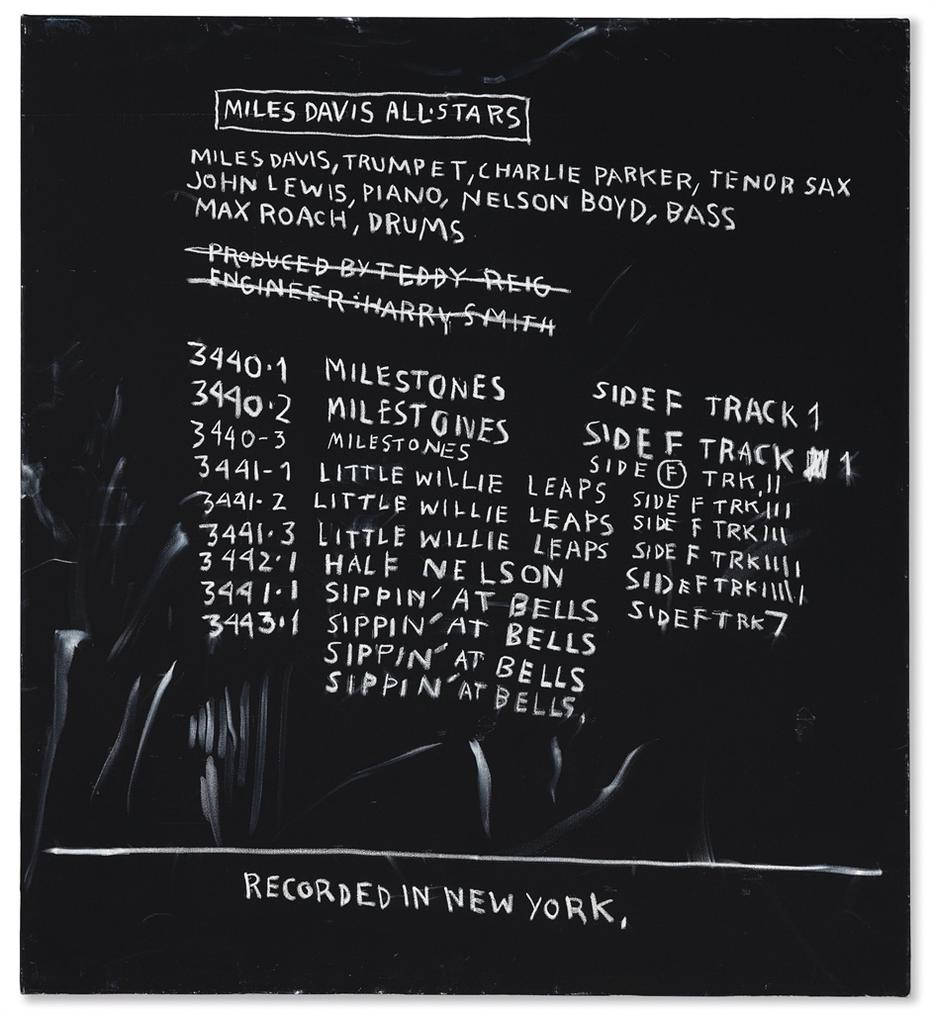 Jean-Michel Basquiat-Discography Two-1983