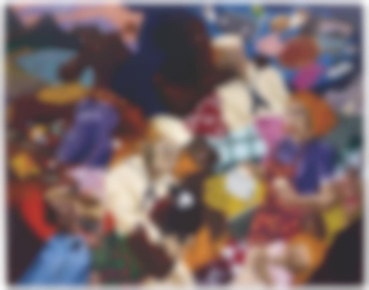 Robert Colescott-Cultural Exchange-1987