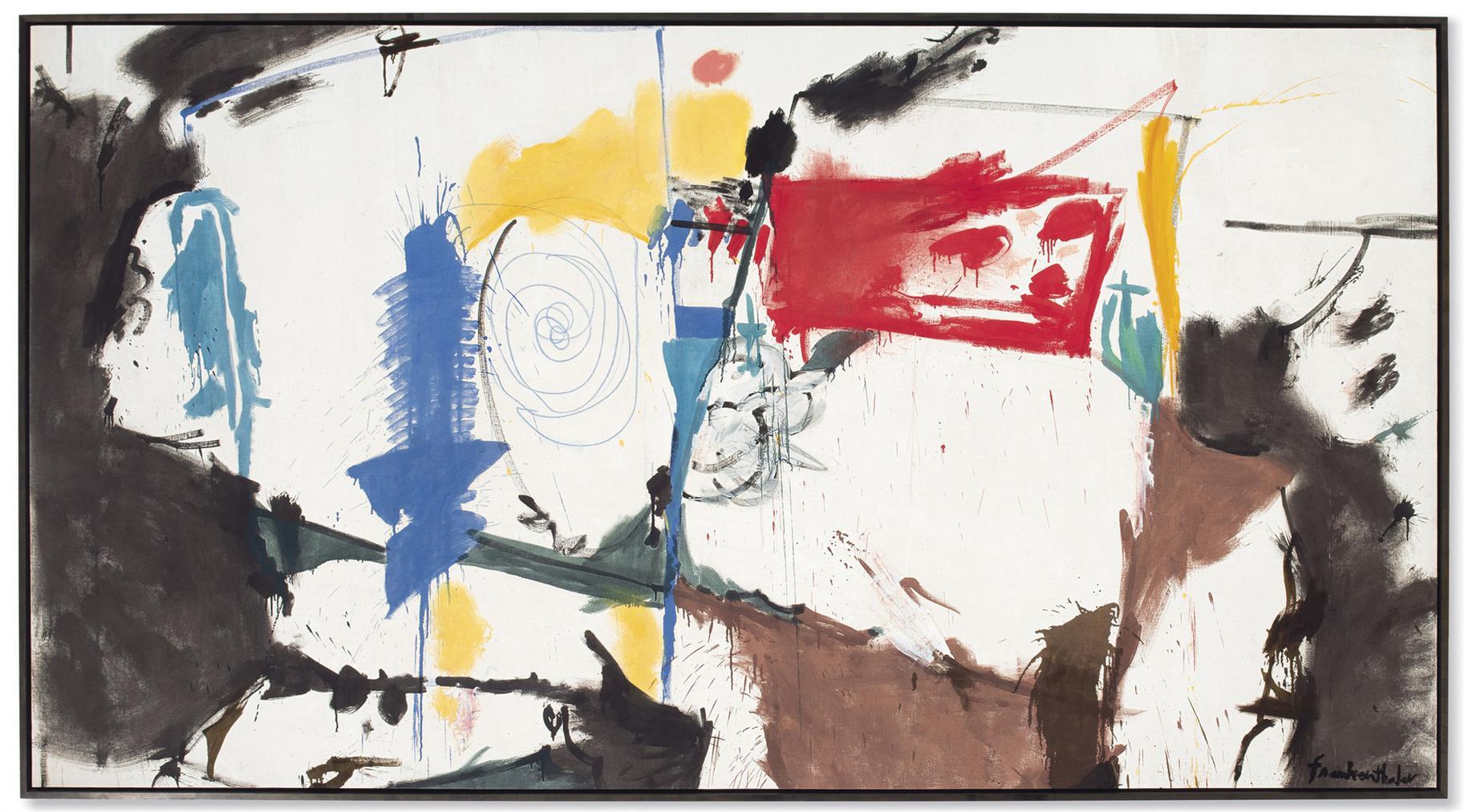 Helen Frankenthaler-Red Square-1959