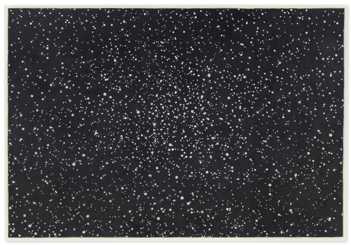 Vija Celmins-Star Field I-1982