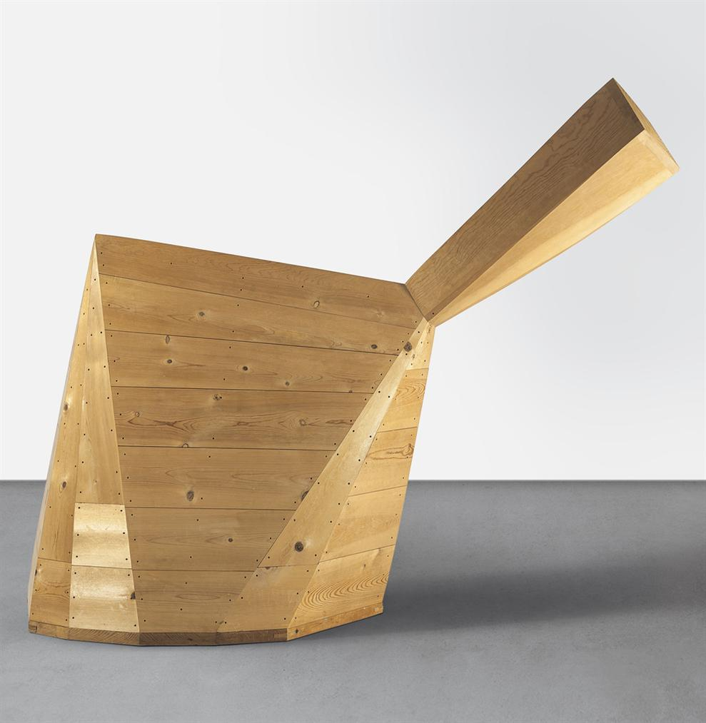 Martin Puryear-Sharp And Flat-1987