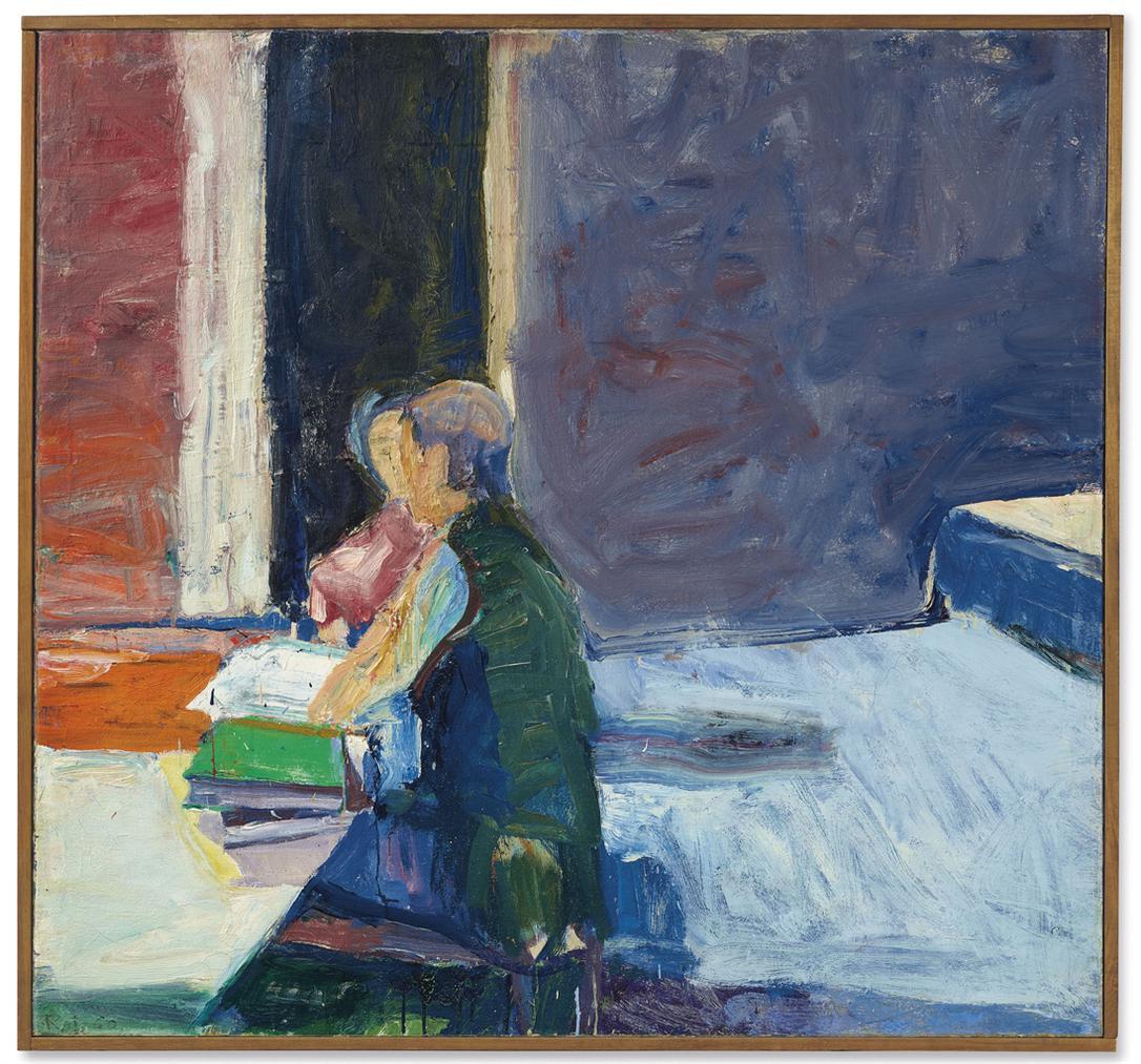 Richard Diebenkorn-Interior With Figures-1960