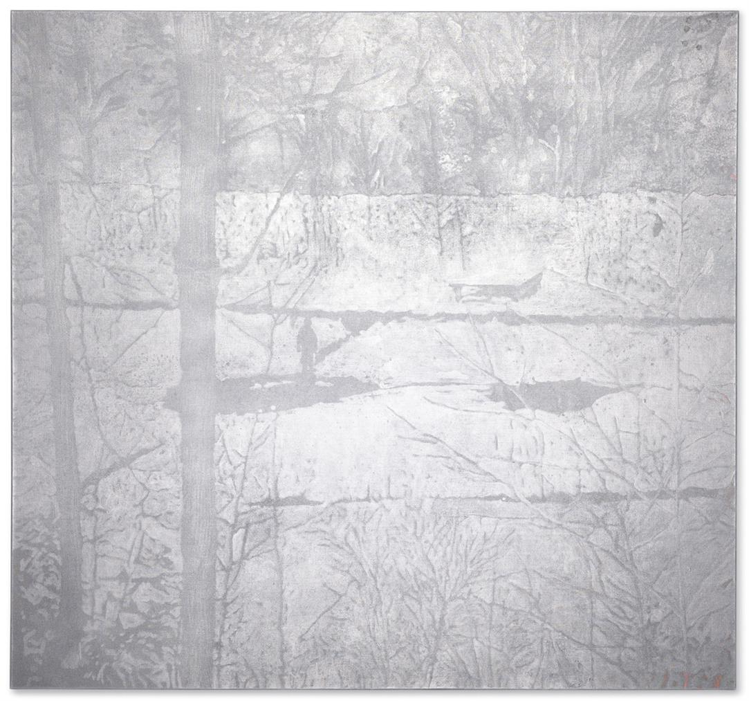 Peter Doig-Untitled (Silver Pond Painting)-2001
