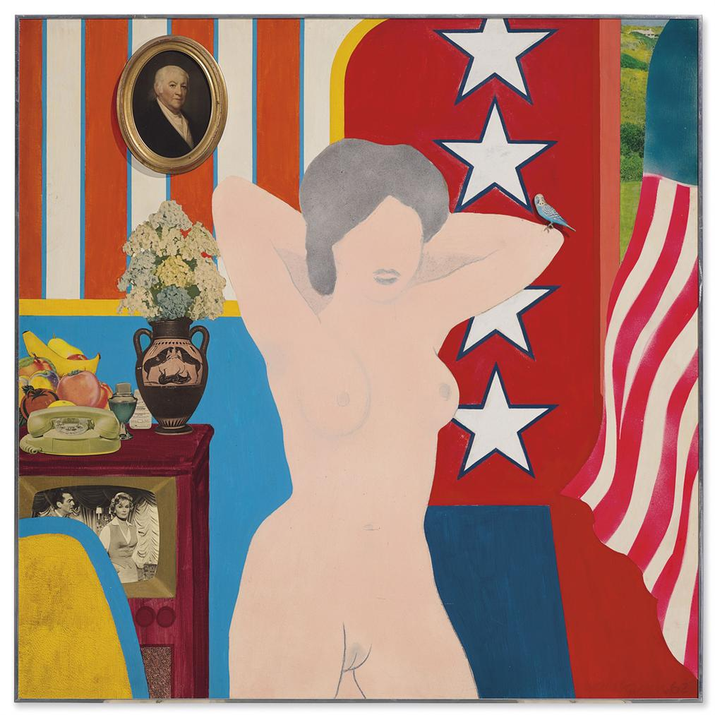 Tom Wesselmann-Great American Nude #34-1962