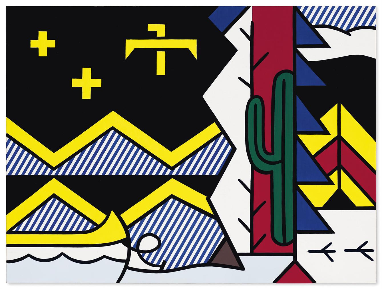 Roy Lichtenstein-Little Landscape-1979