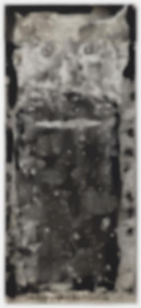Jean Dubuffet-Barbe Du Seigneur Mongol-1959