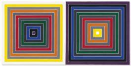 Frank Stella-Gray Scramble-1968