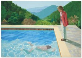David Hockney-Portrait Of An Artist (Pool With Two Figures)-1972