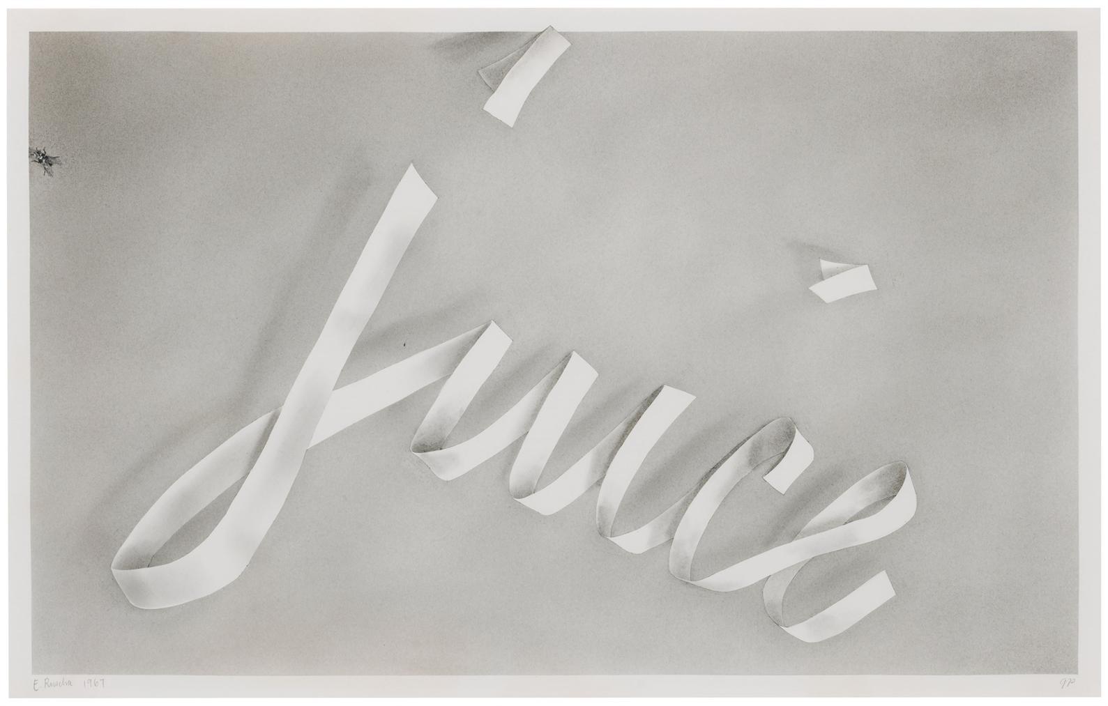 Ed Ruscha-Juice-1967