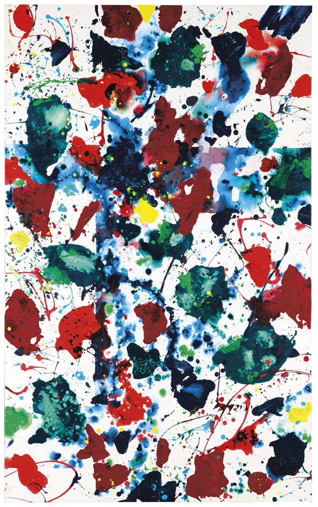 Sam Francis-Untitled-1980
