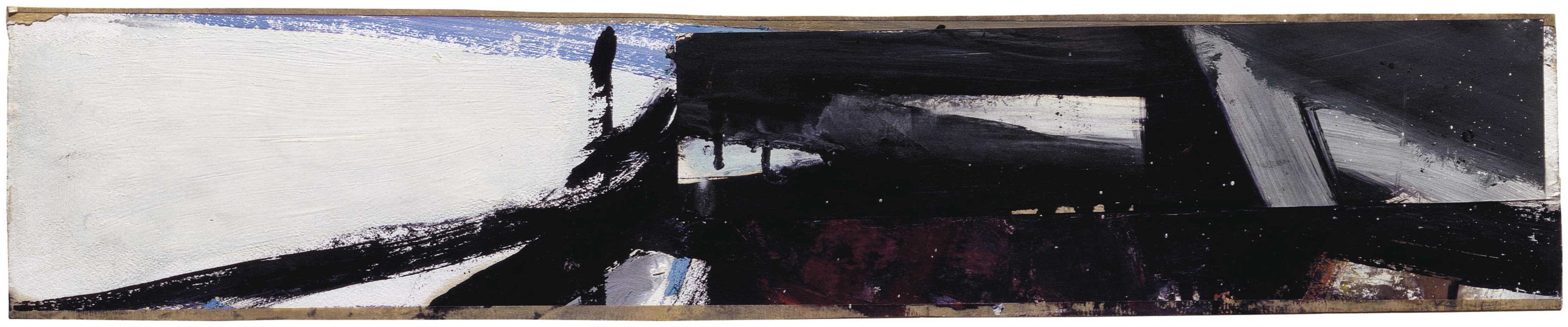 Franz Kline-Study For Washington Wall Painting-1959