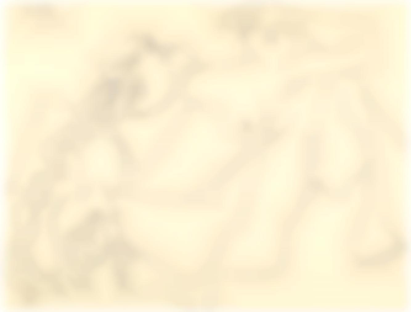 Pablo Picasso-Nu Couche-1972
