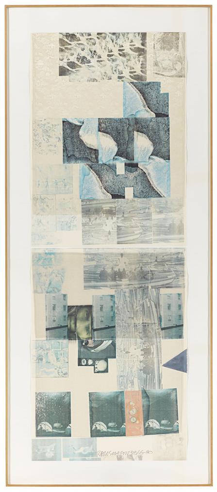 Robert Rauschenberg-Morrow Drift-1980