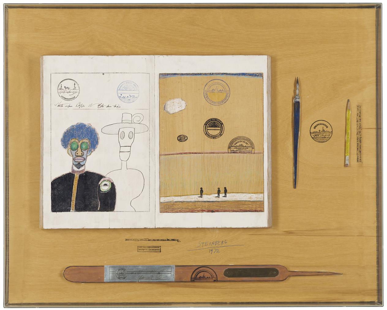 Saul Steinberg-Table Series: Album-1972