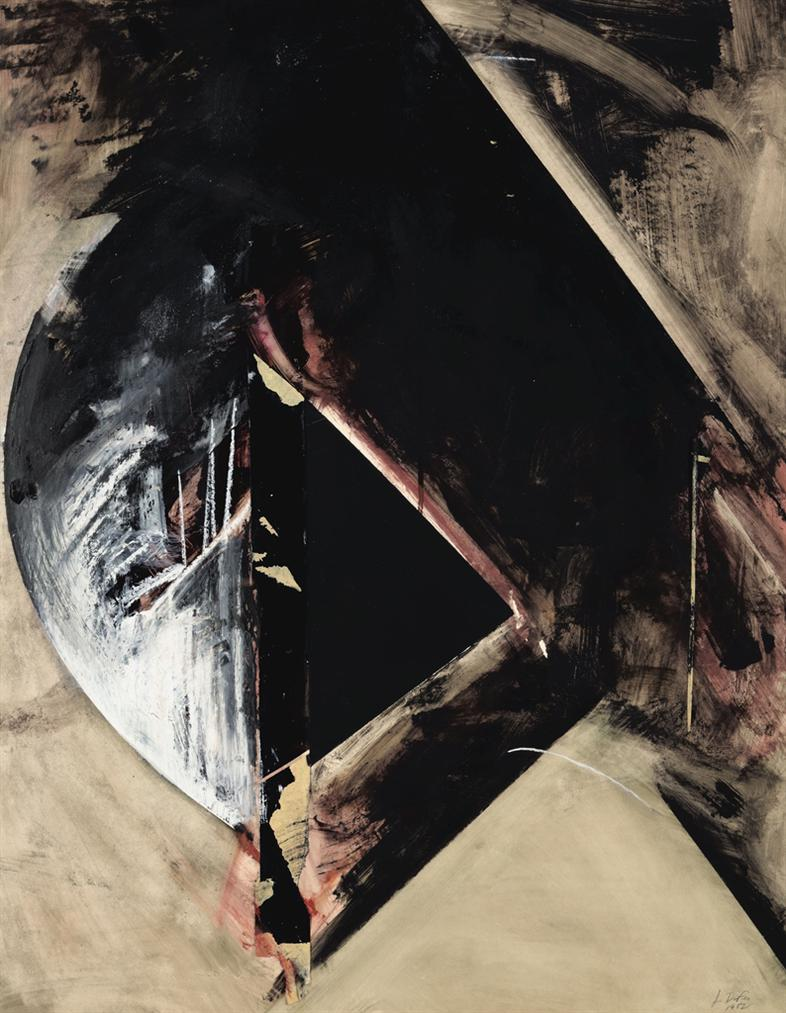 Jay DeFeo-Untitled (Rear Window Series)-1982