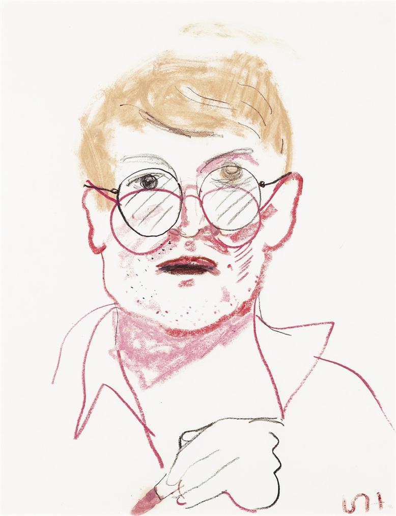 David Hockney-Self-Portrait-1982