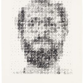Chuck Close-Self-Portrait-1983