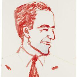 Alex Katz-Self-Portrait-1983