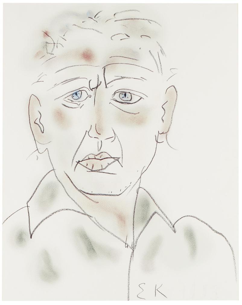 Ellsworth Kelly-Self-Portrait-1983