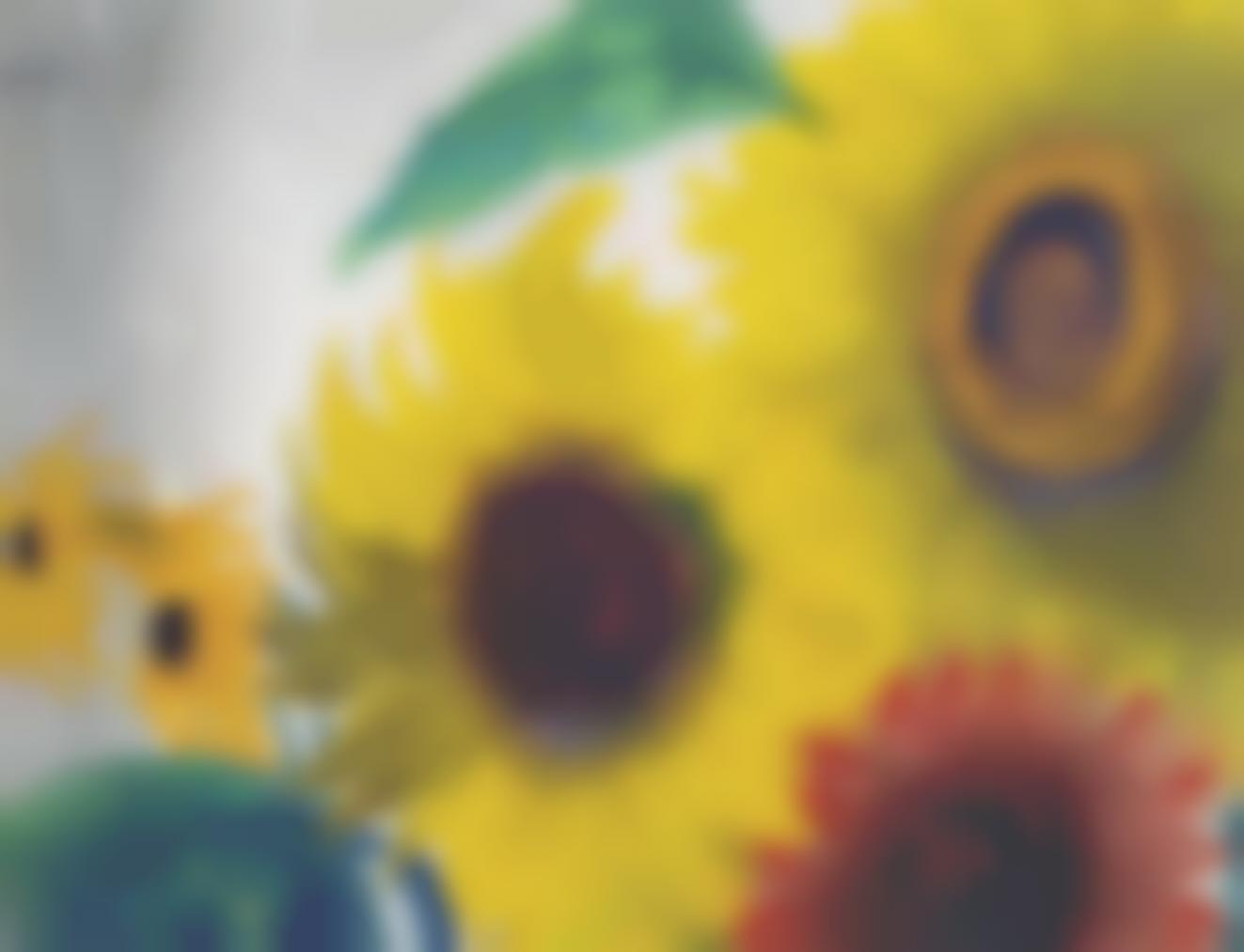 Emil Nolde-Gelbe Und Rote Sonnenblumen-1940