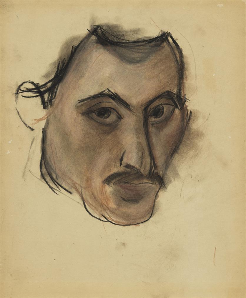 Arshile Gorky-Untitled (Self-Portrait)-1926