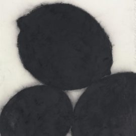 Donald Sultan-Black Lemons And Black Egg, October 25, 1985-1985