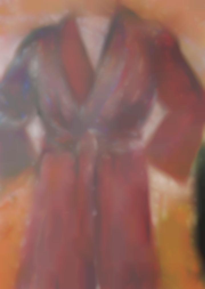 Jim Dine-Untitled (Robe) X-1979