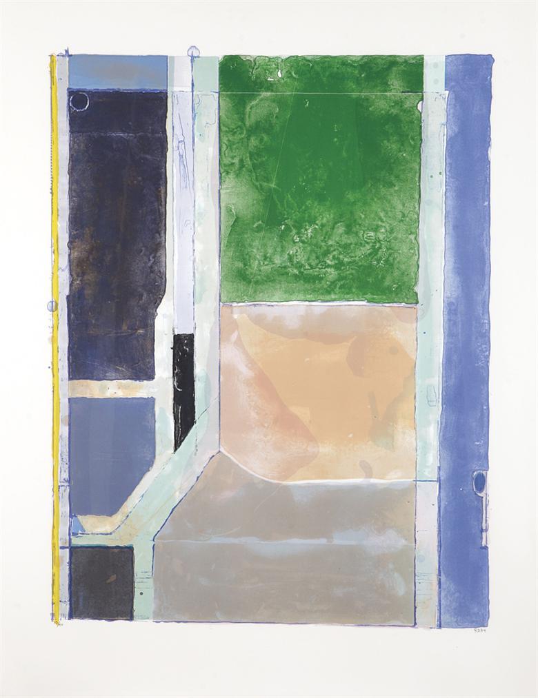 Richard Diebenkorn-Twelve-1986