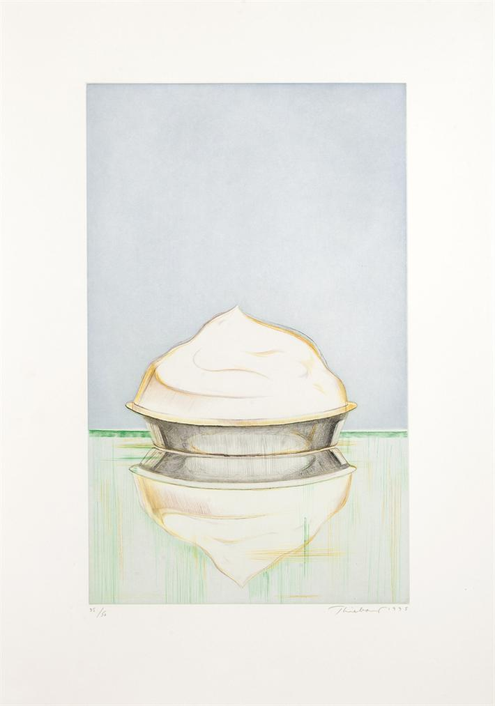 Wayne Thiebaud-Meringue-1995