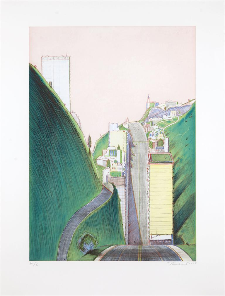 Wayne Thiebaud-Park Place-1995