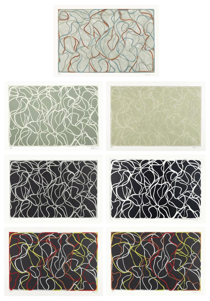 Brice Marden-Muses And Meres-2001