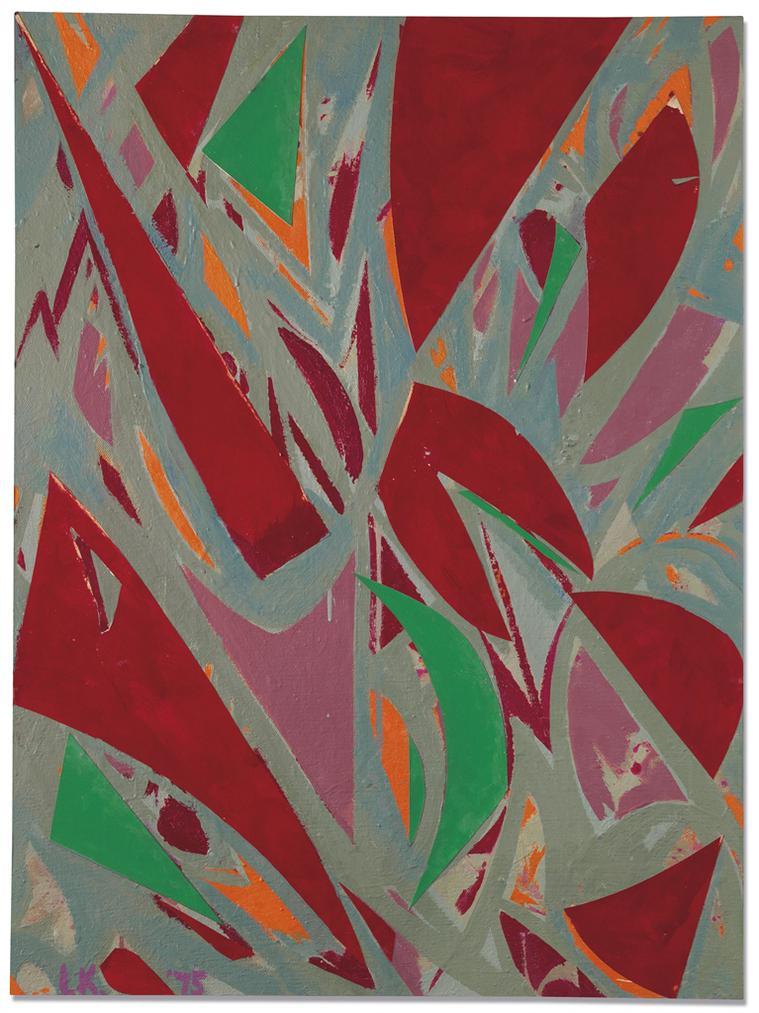 Lee Krasner-Untitled-1975