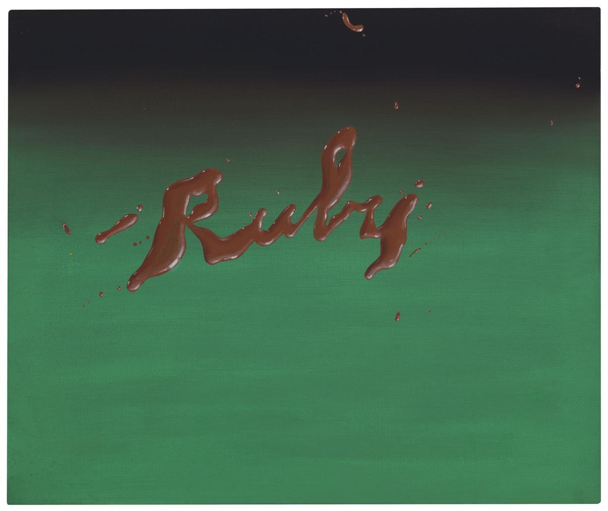 Ed Ruscha-Ruby-1968