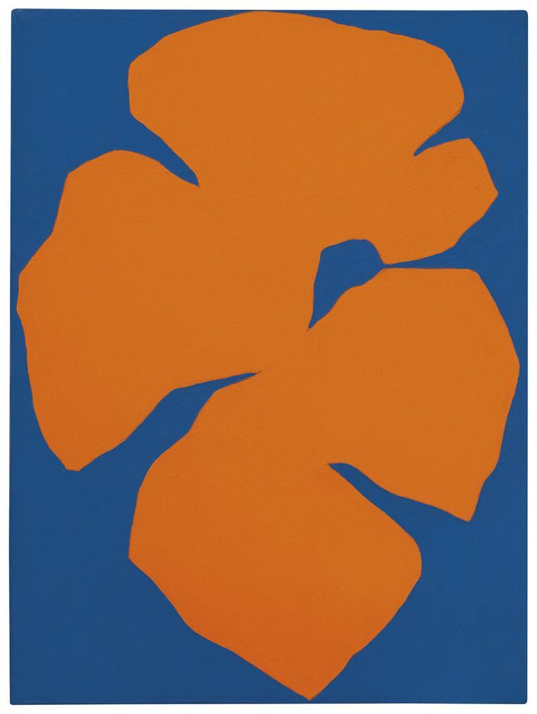 Ellsworth Kelly-Orange Blue-1957