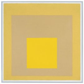 Josef Albers-Study For Homage To The Square: Mellow-1960