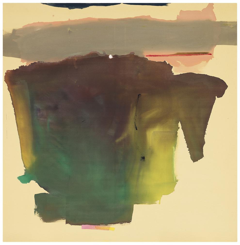 Helen Frankenthaler-It Was There-1974
