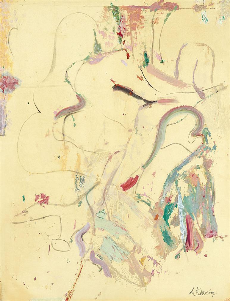 Willem de Kooning-Untitled-1970