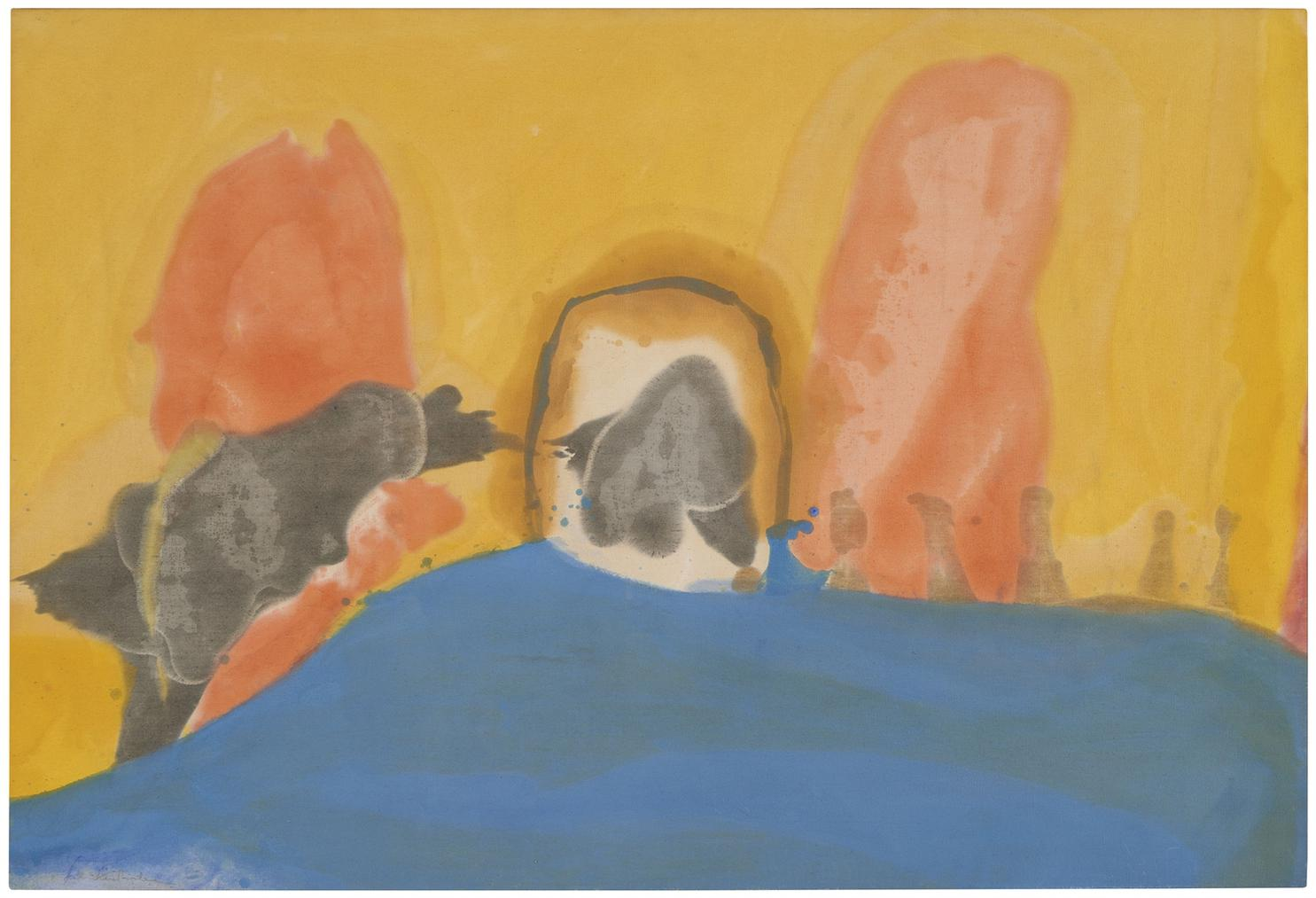 Helen Frankenthaler-Center Break-1963