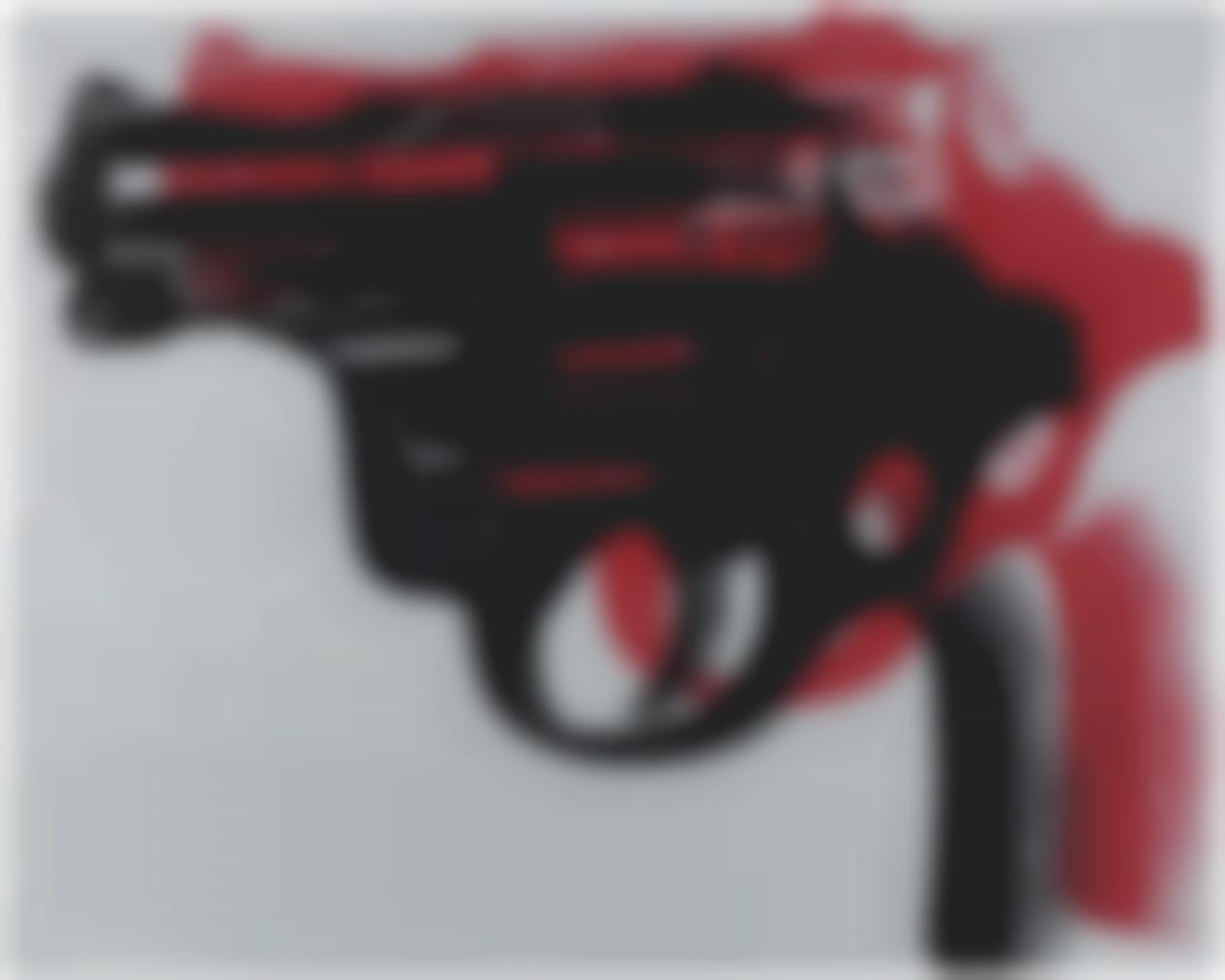Andy Warhol-Gun-1982