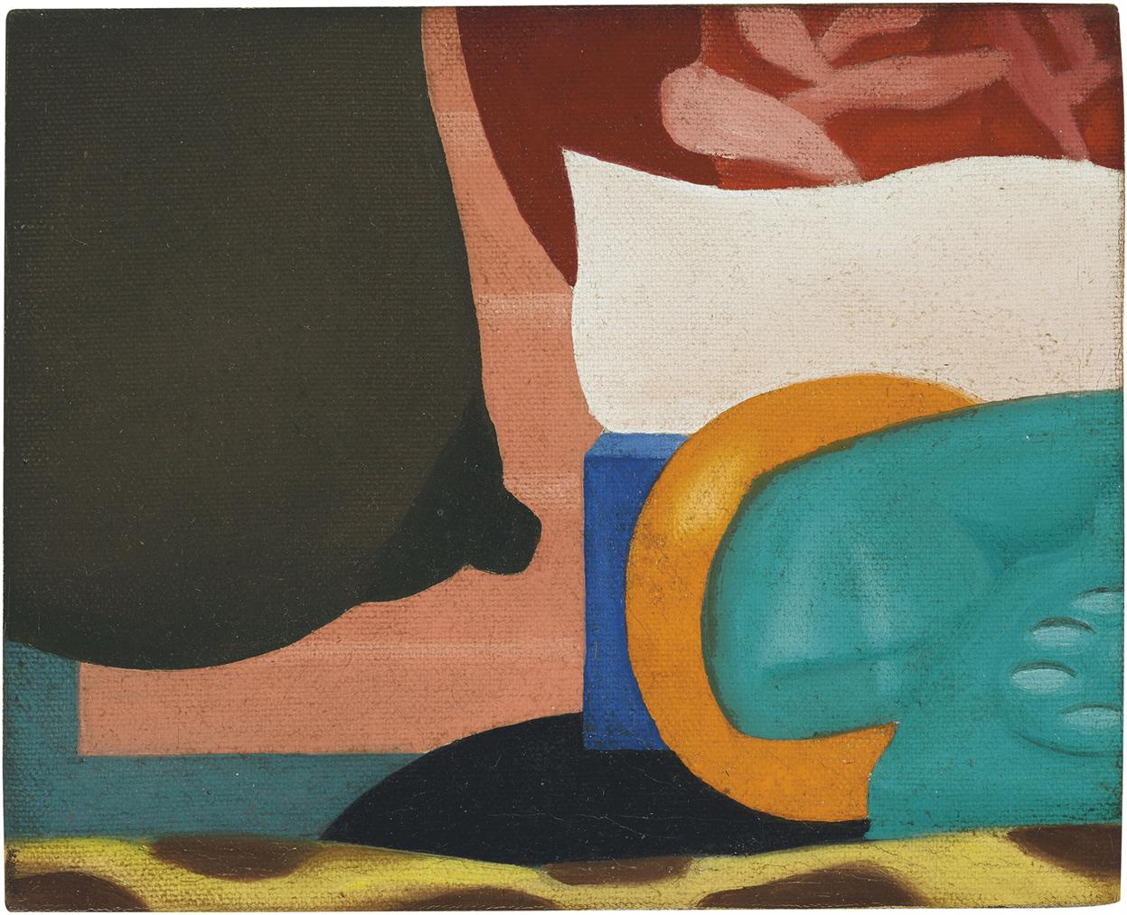 Tom Wesselmann-Study For Bedroom Painting No. 11-1968