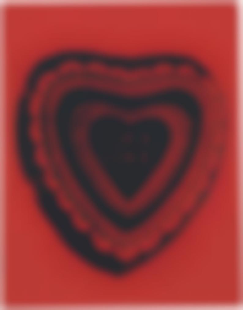Andy Warhol-Heart Shaped Candy Box (True Love)-1984