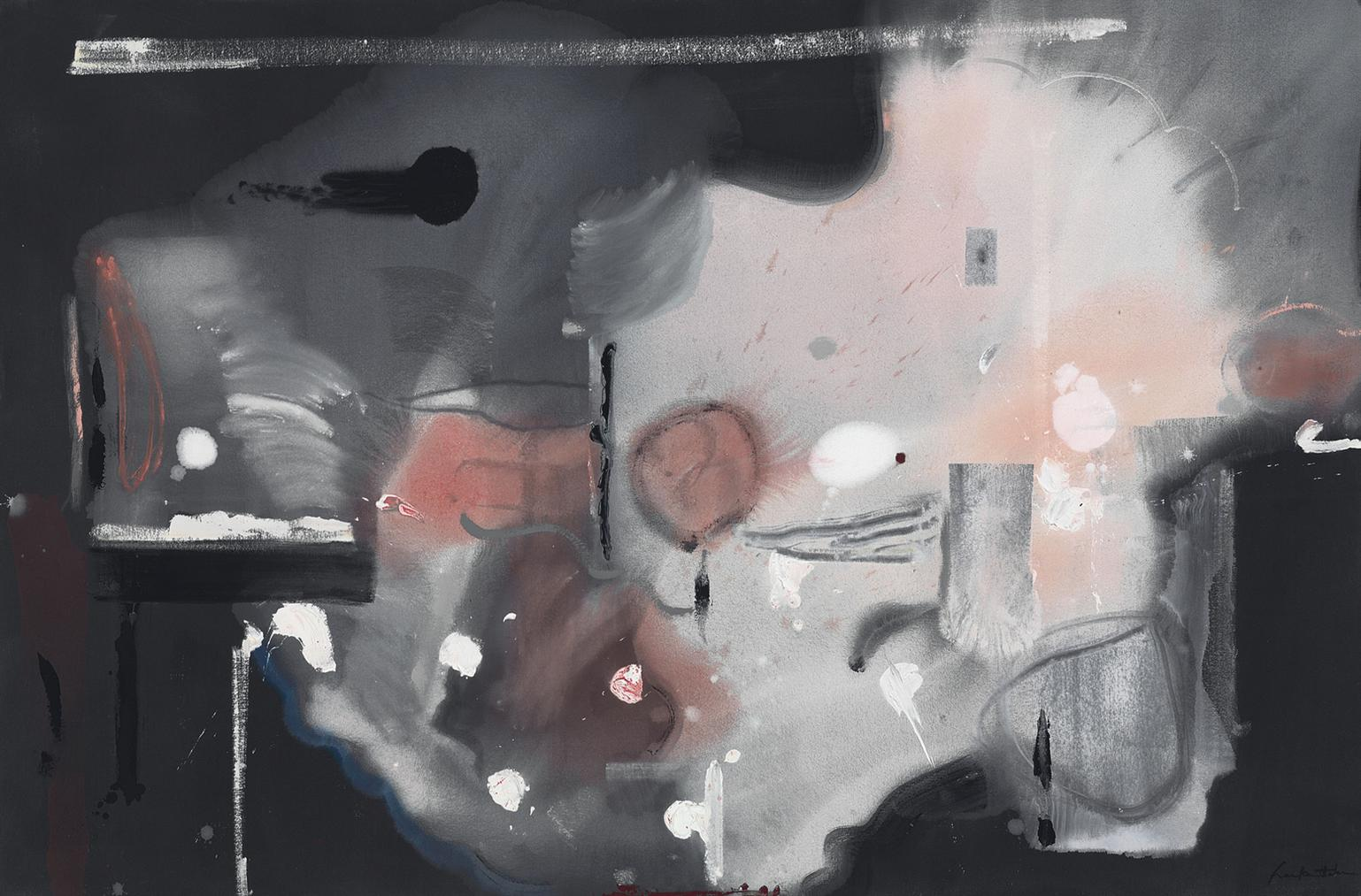 Helen Frankenthaler-Ashes And Embers-1988